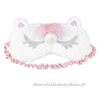 Freebily Universel Masque de Sommeil Femme Fille Enfant Licorne Masque Bandeau de Nuit Cache Yeux Pour Dormir Princesse Couronne Masque des Yeux Argent Licorne - B07BFB4TRW