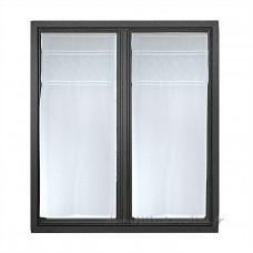 Paire voilages étamine (45 x 90 cm)  Emotion Blanc - Voilage    13W4U01
