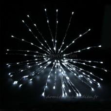 Etoile lumineuse Flashing light D70 cm CA Blanc froid 160 LED - Personnage, animaux et objet lumineux    161BU01