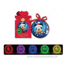 Boule de Noël lumineuse Disney Mickey - Boule de Noël    UP6U01