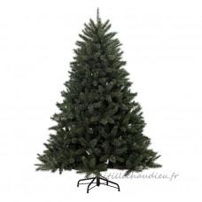 Sapin artificiel de Noël Norway H210 cm Vert enneigé - Sapin artificiel de Noël    167SU01