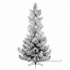 Sapin artificiel de Noël Colorado H180 cm Vert enneigé - Sapin artificiel de Noël    VODU01
