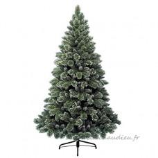 Sapin artificiel de Noël Finley H210 cm Vert enneigé - Sapin artificiel de Noël    PRGU01