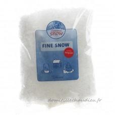 Sachet de neige artificielle fine 350 gr - Accessoire pour sapin    15O7U01